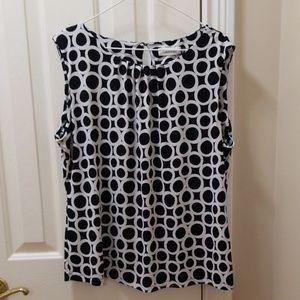 Calvin Klein blouse sz XL